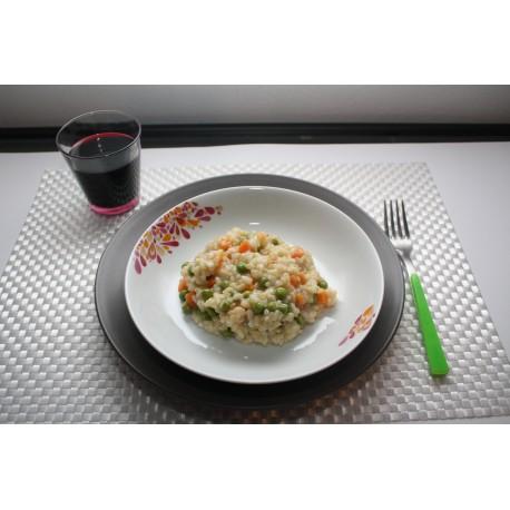 Riso integrale con verdure gr 250