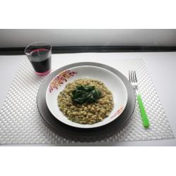 Orzo con lenticchie e spinaci gr 250