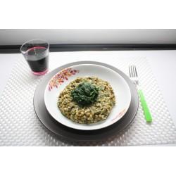 Farro con spinaci gr 250